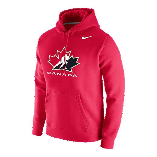 e2e7f1696 Team Canada Nike Men's Stadium Club Fleece Hoodie
