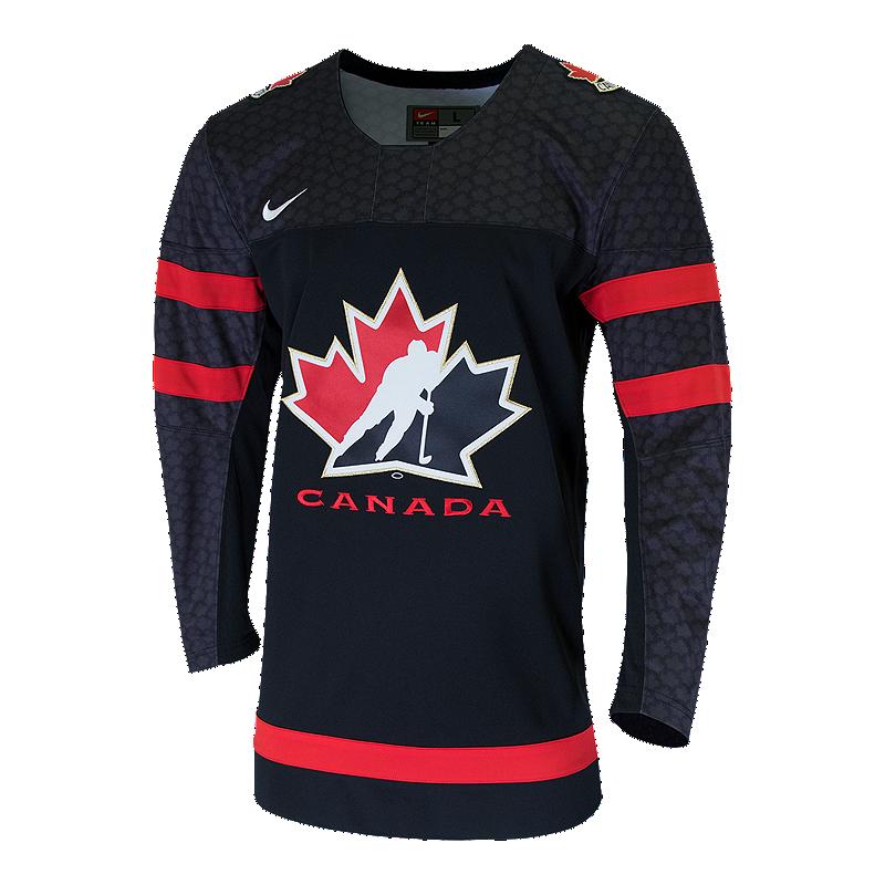 14e8b4f8e Nike Team Canada Replica Hockey Jersey - Black