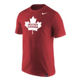 Team Canada Nike Men's Tri-Blend Reflective Print Tee