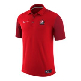 Team Canada Nike Men's Dry Polo Shirt - Red
