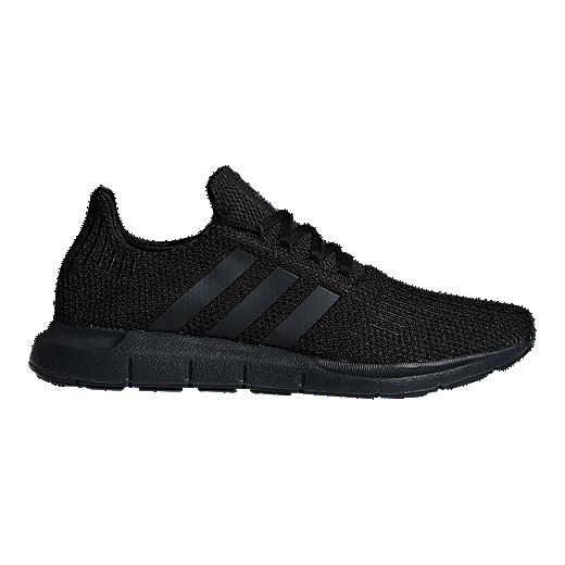 7da3e462e4542 adidas Men's Swift Run Shoes - Green/Black/White - CORE BLACK/CORE