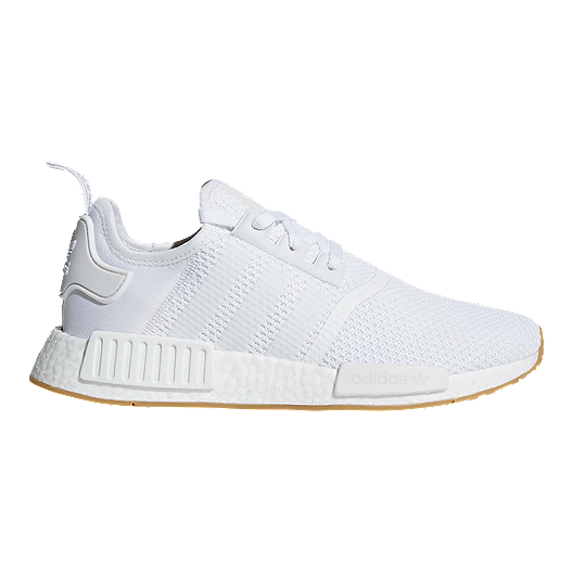 new concept c5a27 c02ea adidas NMD_R1 Shoes - White/Gum