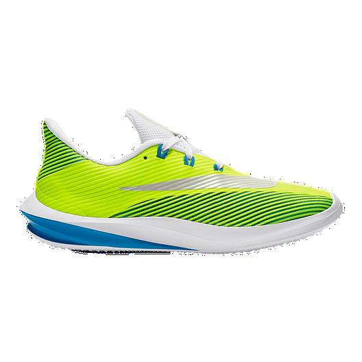 low priced 6ee6a 5a5ec Nike Kids  Future Speed Grade School Shoes - Volt White Blue   Sport Chek