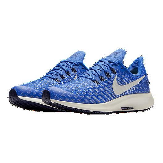 finest selection 35d8c 52514 Nike Kids' Air Zoom Pegasus 35 Grade School Running Shoes - Blaze/Bone