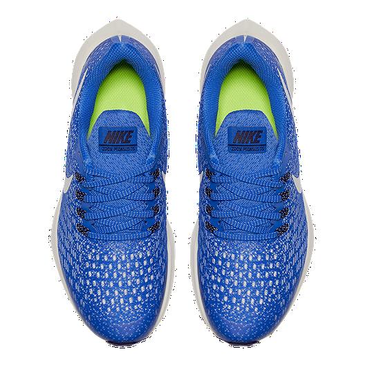 finest selection b7bec 793c9 Nike Kids' Air Zoom Pegasus 35 Grade School Running Shoes - Blaze/Bone