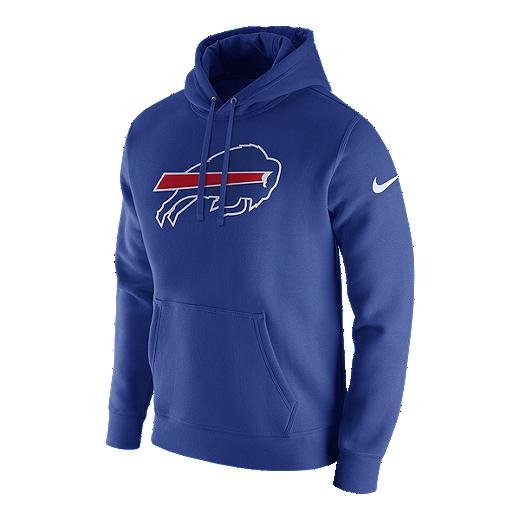 buy online b5101 477fe Buffalo Bills Nike Club Fleece Pullover Hoodie