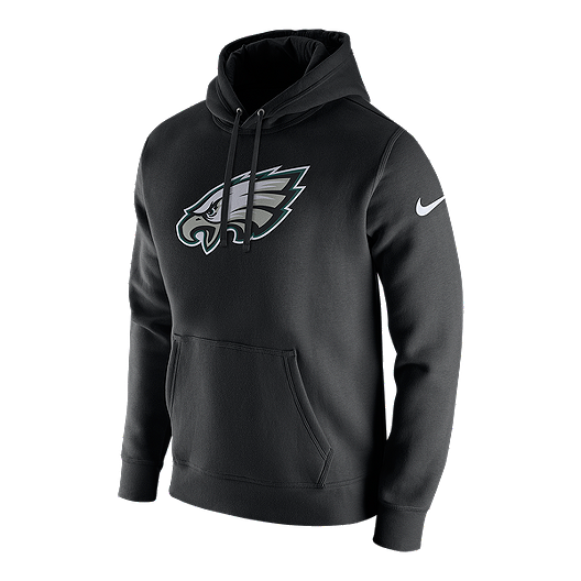 best website 6f285 59bc7 Philadelphia Eagles Nike Men's Club Fleece Pull Over Hoodie