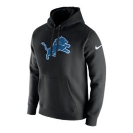 Detroit Lions Nike Men's Club Fleece Pull Over Hoodie
