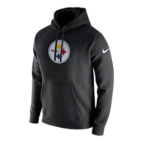 ffd7eca5d22a Pittsburgh Steelers Nike Men s Club Fleece Pull Over Hoodie