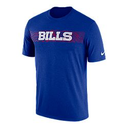 8493c0e0165 image of Buffalo Bills Nike Men s Seismic Sideline T-Shirt with  sku 332546051