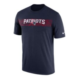 New England Patriots Nike Men's Seismic Sideline T-Shirt