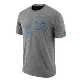 Detroit Lions Nike Men s Dri-FIT Slub Sideline T-Shirt 3a95e6dd1