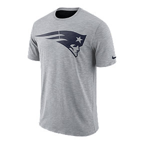 New England Patriots Nike Men's Dri-FIT Slub Sideline T-Shirt