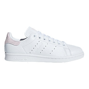adidas Women's Stan Smith Shoes - White/Orchid Tint