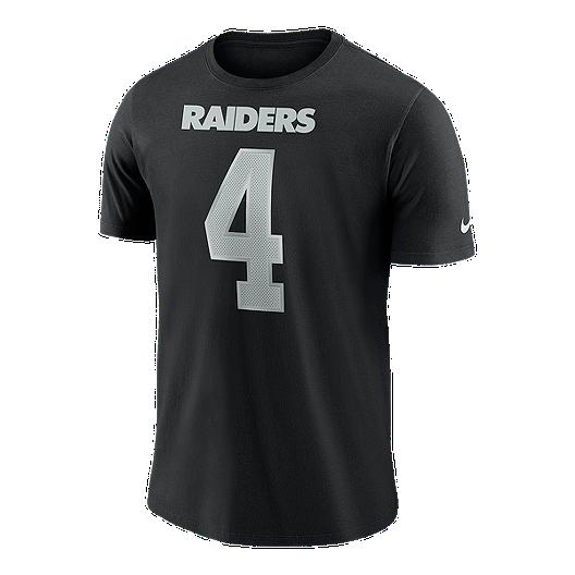 cf27d8354 Oakland Raiders Nike Men's Derek Carr Player Pride T-Shirt   Sport Chek