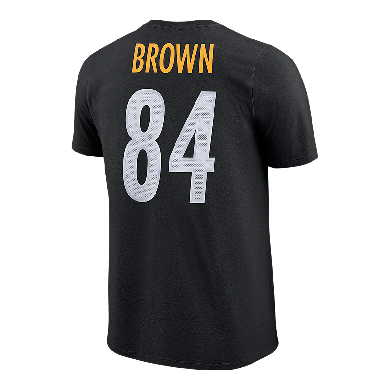 quality design 82996 5c8f1 Pittsburgh Steelers Nike Men's Player Pride Antonio Brown T-Shirt