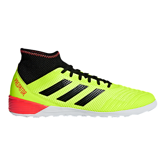 55578ed16cbd adidas Men s Predator Tango 18.3 TR Indoor Soccer Shoes - Yellow Black