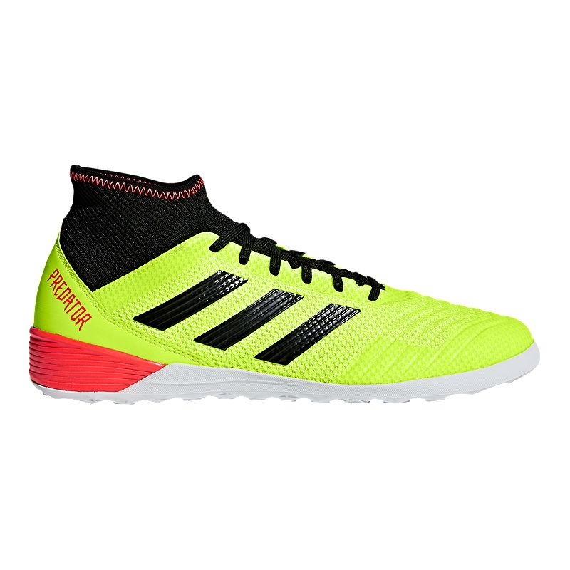 51f8ab74a adidas Men s Predator Tango 18.3 TR Indoor Soccer Shoes - Yellow Black  (191040992636)
