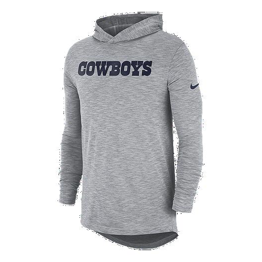 online store 66ea7 b5617 Dallas Cowboys Nike Men's Lightweight Sideline Hoodie