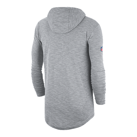 online store a9f21 17bc4 Dallas Cowboys Nike Men's Lightweight Sideline Hoodie