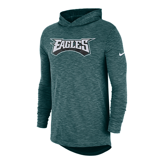 info for edd91 a9b56 Philadelphia Eagles Nike Men's Lightweight Sideline Hoodie