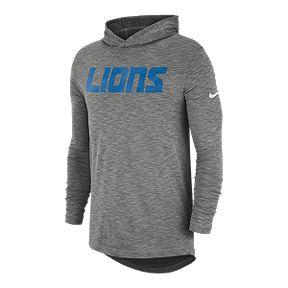 f3c63c2c Detroit Lions Nike Men's Lightweight Sideline Hoodie