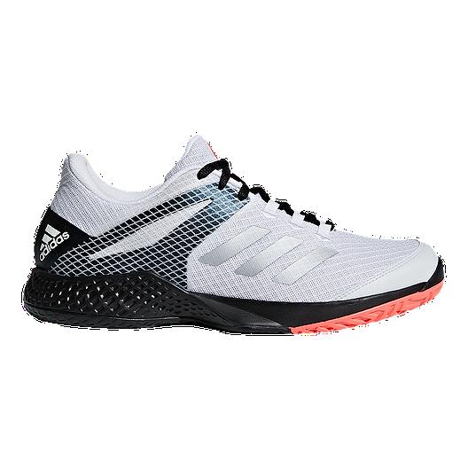 744a1244be0 adidas Men s Club 2 Tennis Shoes - White Black Coral