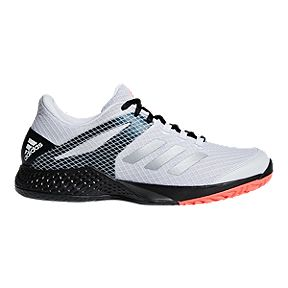 competitive price 3c529 6edc2 adidas Men s Club 2 Tennis Shoes - White Black Coral
