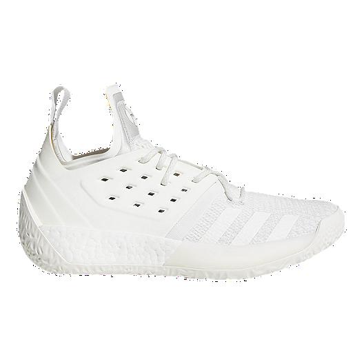 0cc978c1da30 adidas Men s Harden Vol.2 Basketball Shoes - Grey White Grey