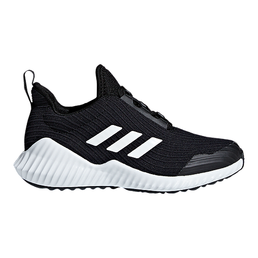 sports shoes 5ed26 70eed ... reduced adidas kids fortarun grade school shoes black white black a2f04  32060