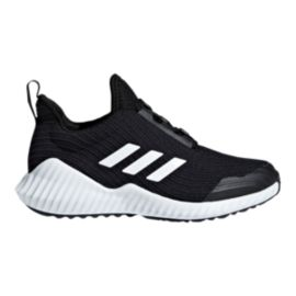 adidas Kids' Fortarun Grade School Shoes - Black/White