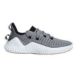 image of adidas Men s Alpha Bounce Training Shoes - Grey Black Green with  sku df4f8aa31