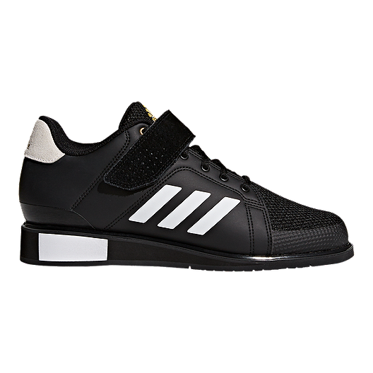 finest selection a7fc7 1564a adidas Men s Power Perfect III Weightlifting Shoes - Black White Gold    Sport Chek