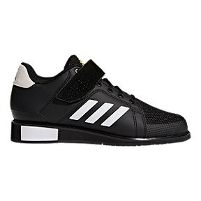 acbec253d4e7 adidas Men s Power Perfect III Weightlifting Shoes - Black White Gold