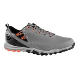 New Balance Golf Men's 1006 Minimus SL Golf Shoe - Grey/Orange