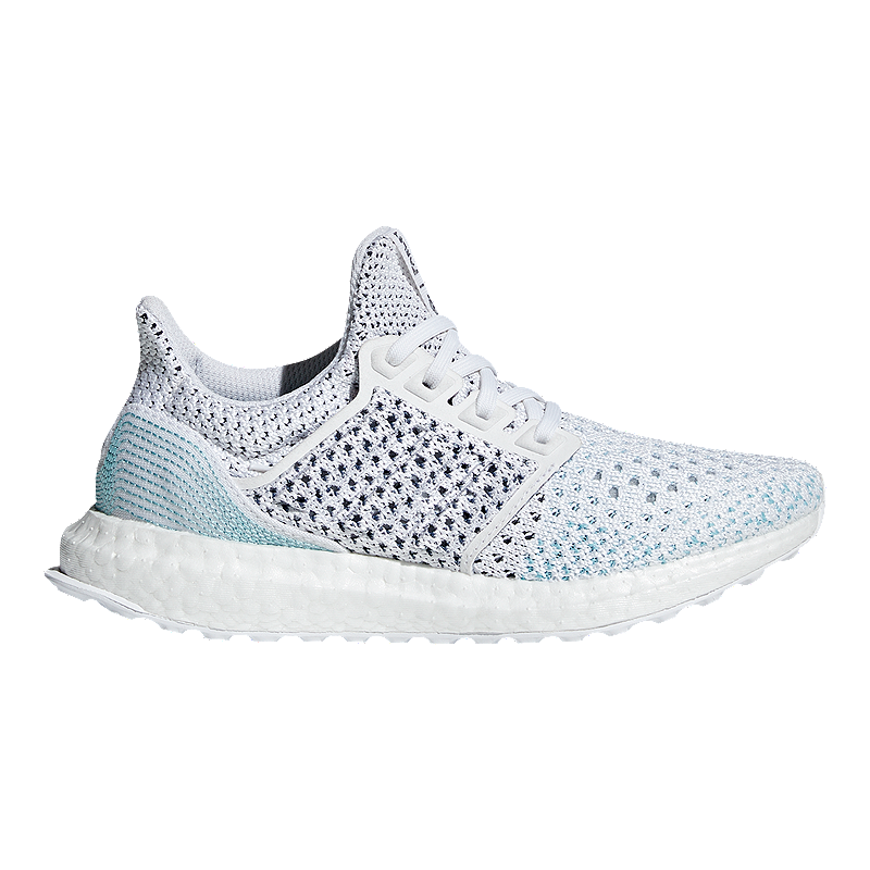 87ea525f9e8 adidas Kids  Ultraboost Parley Grade School Running Shoes - White Blue
