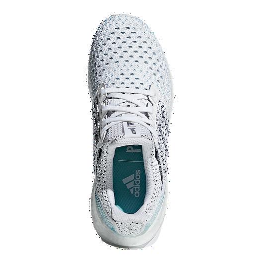 8e9cf7f44a9a5 adidas Kids  Ultraboost Parley Grade School Running Shoes - White Blue.  (0). View Description