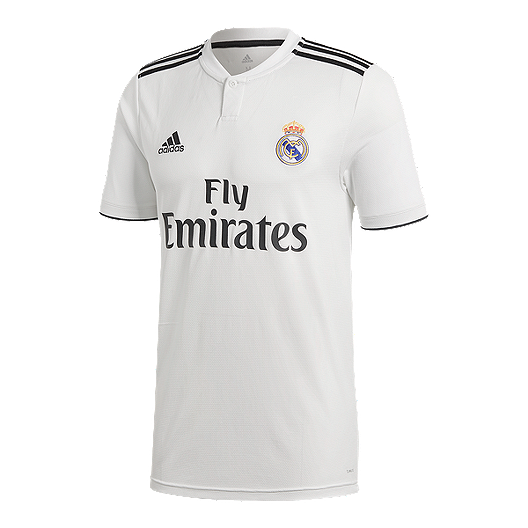 new style a14ed 742ed Real Madrid 2018/19 adidas Men's Home Jersey