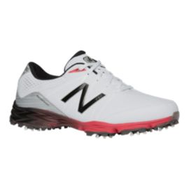 New Balance Golf Men's 2004 Golf Shoes - White/Red
