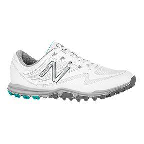 f344747b7436b Clearance. New Balance Golf Women's 1006 Minimus Sport Golf Shoe -  White/Aqua