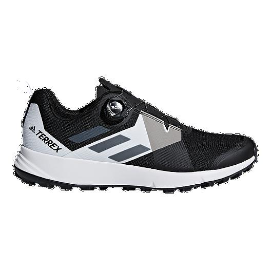 adidas Men's Terrex Two Boa Hiking Shoes BlackWhite billig