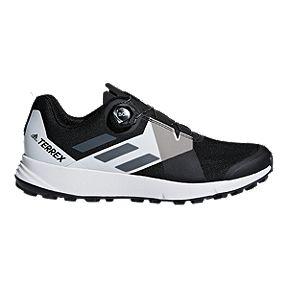 b996c8d1b adidas Men s Terrex Two Boa Hiking Shoes - Black White