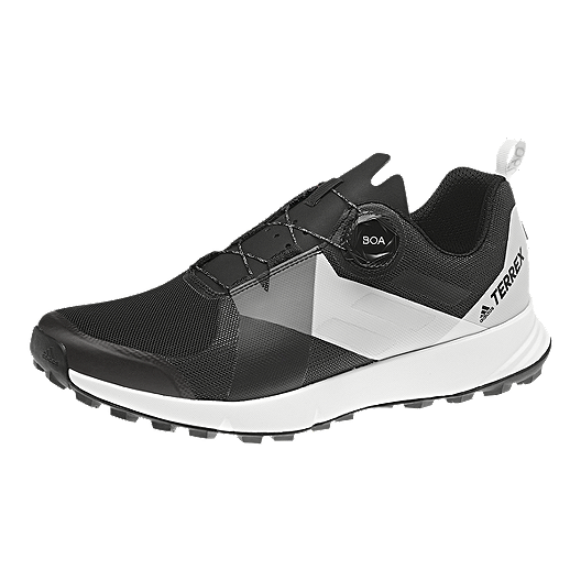 adidas Men's Terrex Two Boa Hiking Shoes BlackWhite