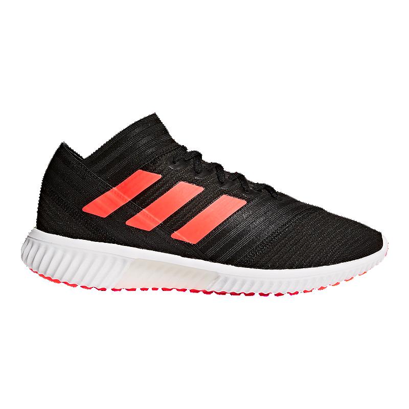 adidas Men s Nemeziz Tango 17.1 TR Indoor Soccer Shoes - Black Red White  68bc3cc11d090