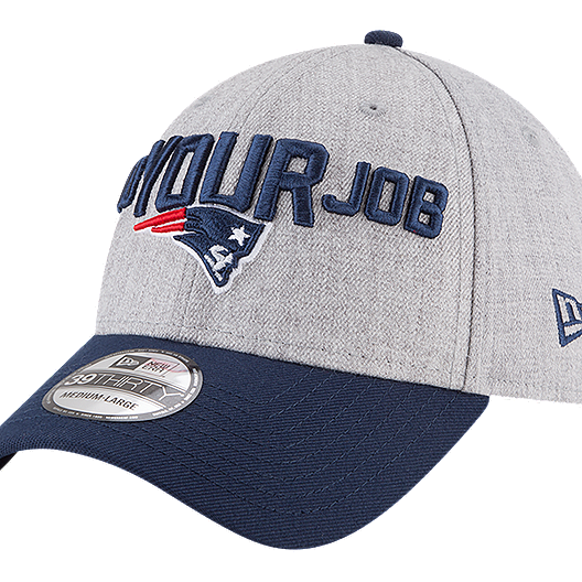 21f325bb741 New England Patriots New Era Men s 3930 On Stage Draft Hat