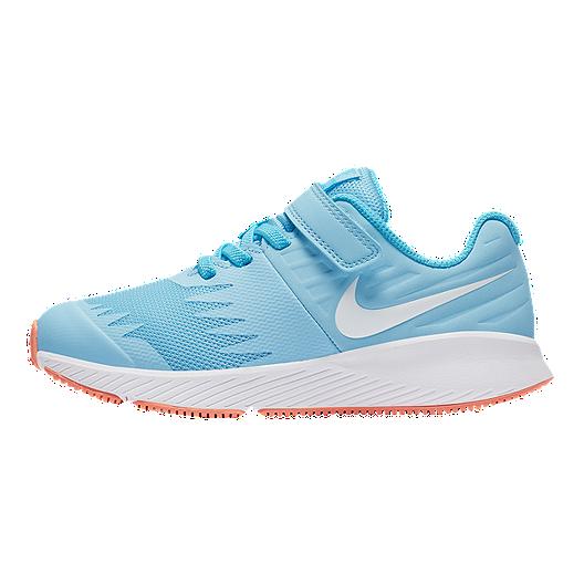 4a48c122 Nike Girls' Star Runner AC Preschool Shoes - Cobalt/White/Blue
