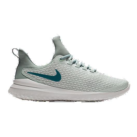 d1008ce1c2 Nike Women's Renew Rival Running Shoes - White/Metallic Blue