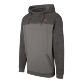 Ripzone Men's Pacific Pullover Hoodie - Eiffel Grey