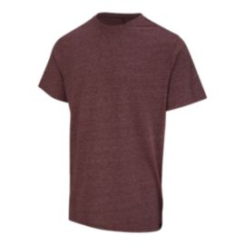 Ripzone Men's Gage Crew T Shirt - Sun Dried Red