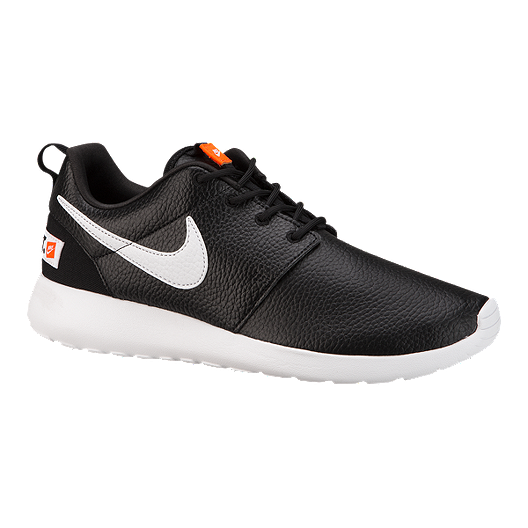innovative design 8847d b9b82 Nike Women s Roshe One Premium Shoes - Black White Orange   Sport Chek